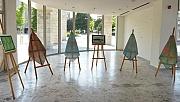 Nilüfer Belediyesi personelinden ebru sergisi