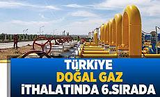Türkiye'nin Doğalgaz İthalatı Yüzde 3,7 Arttı!