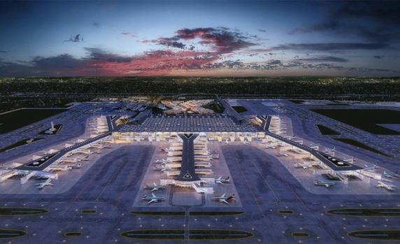 İstanbul'un 3. Yeni Havalimanı Yarın Açılıyor