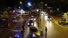 Bursa Mudanya'da 250 Polis'le Drone'lu Asayiş Uygulaması