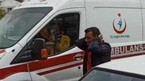 Bursa İnegöl Mahmudiye'de Trafik Kazası