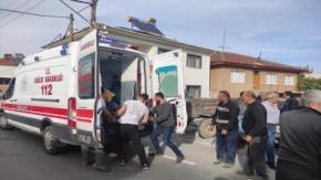 İznik Çakırca Traktörle Motosiklet Çarpıştı