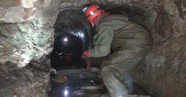 Ordu'da 2 bin 500 yıllık mağara bulundu
