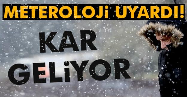 Türkiye, Önümüzdeki Hafta Soğuk ve Yağışlı Sistemin Etkisine Giriyor