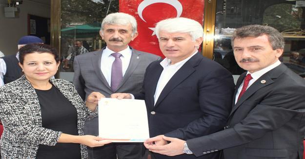 Yenişehir Belediyesi'nden test merkezine 197 dönüm arazi bağışı