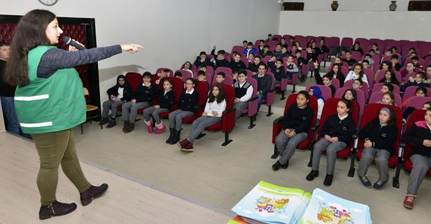 Yıldırım'da Öğrencilere Çevre Eğitimi