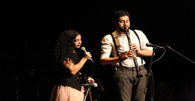 Emel Mathlouthi ve Serkan Çağrı'dan muhteşem konser