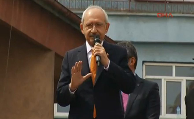 "CHP Genel Başkanı Kılıçdaroğlu: ""Cumhurbaşkanının tarafsız olması gerekir"""