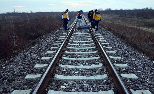 Konya'da tren raylarında ceset bulundu