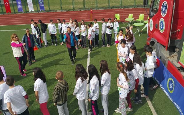 Yenişehir`de spor coşkusu