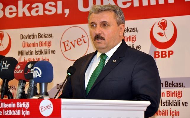 BBP Genel Başkanı Destici