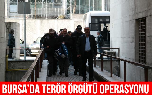 Bursa'da terör örgütü operasyonu