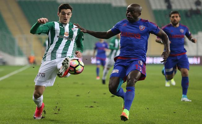 Bursaspor - Kardemir Karabükspor maçı