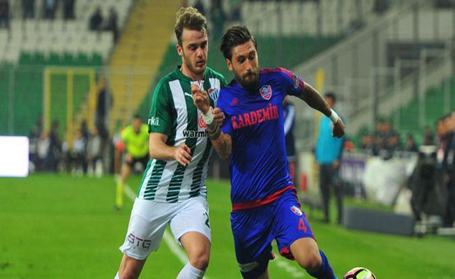 Bursaspor Kardemir Karabükspor maçının ardından
