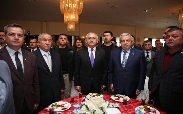 CHP Genel Başkanı Kemal Kılıçdaroğlu Mustafakemalpaşa'da