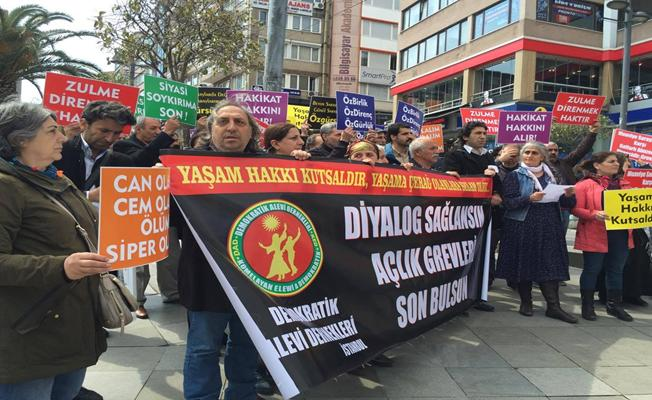 Demokratik Alevi Derneklerinden açlık grevi açıklaması