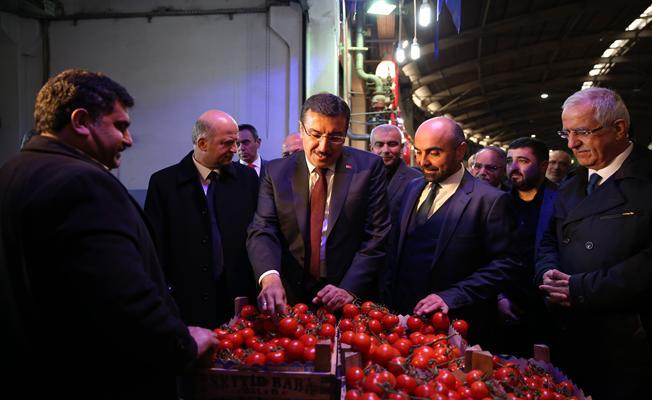 Gümrük ve Ticaret Bakanı Bülent Tüfenkci Bursa'da