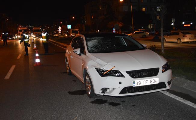 Lüleburgaz'da trafik kazası: 1 ölü