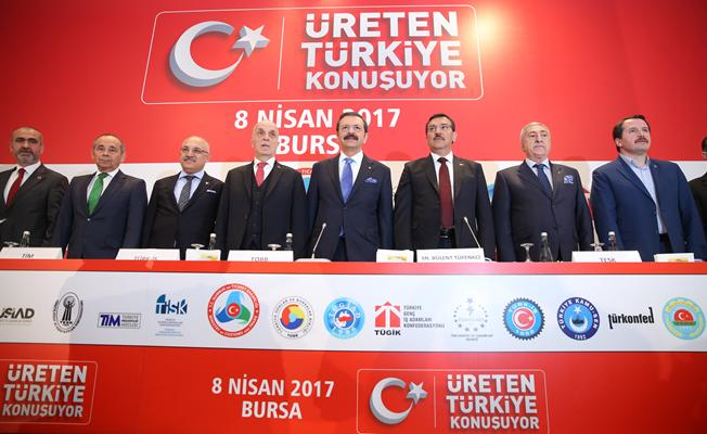 'Üreten Türkiye Konuşuyor'