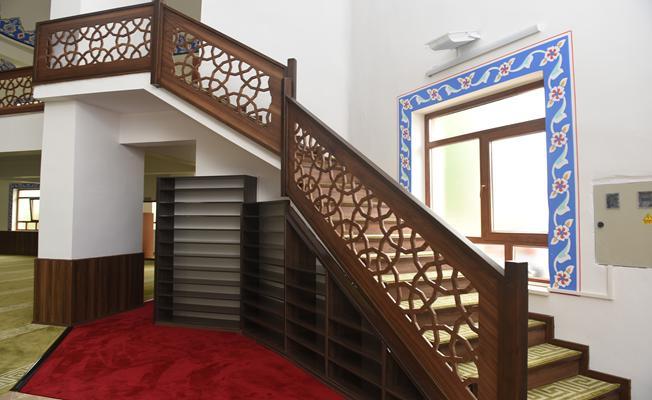 Akşemseddin Camii yeni yüzüyle ibadete açıldı
