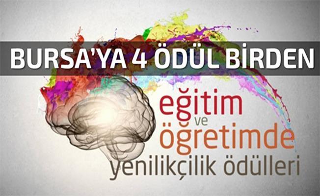 Bursa'ya 4 Bölgesel Ödül