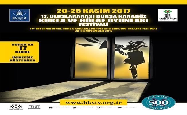 Bursa`da gölge oyunu heyecanı