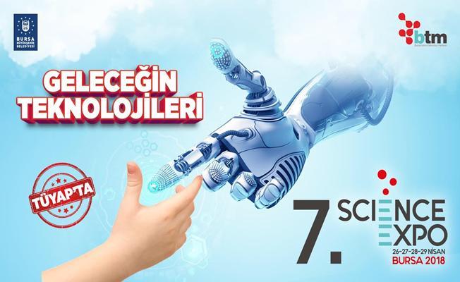 Bursa`da 'Science Expo` Heyecanı Başlıyor