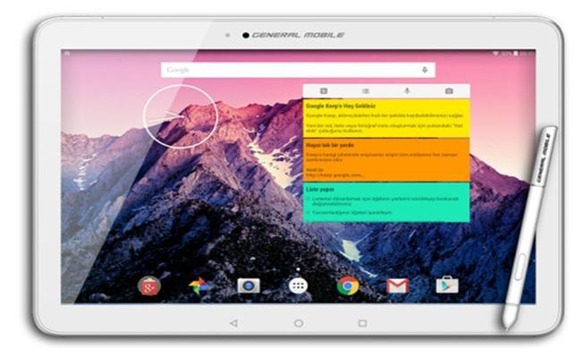 General Mobile Tablet