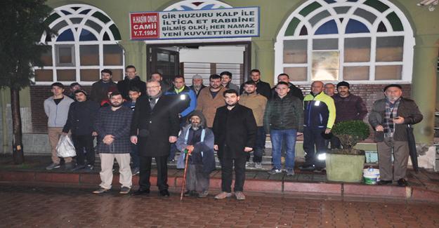 Başkan Ali Özkan, Türkiye Gençlik Vakfı üyeleriyle buluştu