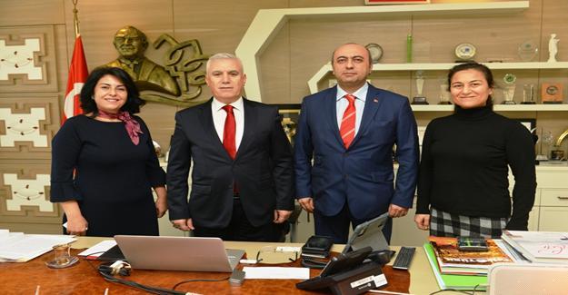 Yeni yönetimden Bozbey'e ziyaret