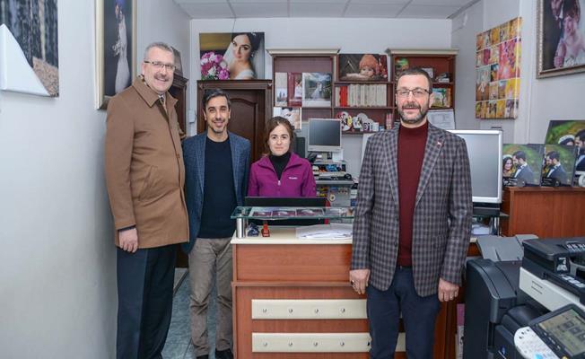 Ali Özkan'dan esnaf ziyaretinde 'istişare' kültürü