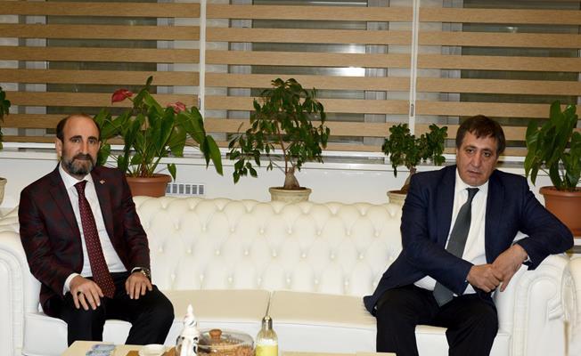 Başkan Edebali Vali Küçük'ü Ağırladı