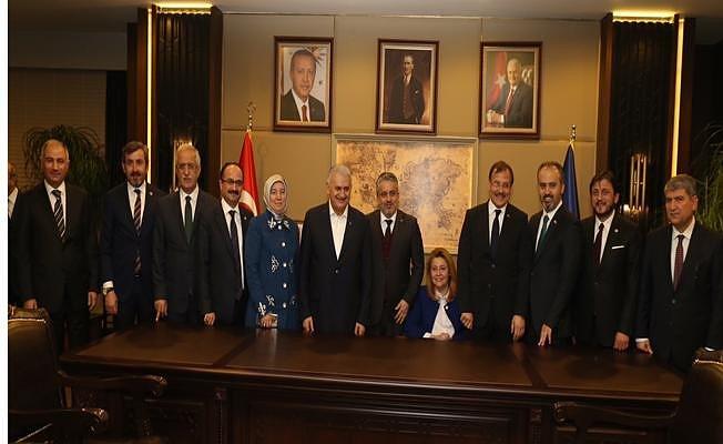 """Başbakan Yıldırım: """"Bursa, her şeyin en güzelini hak ediyor"""""""