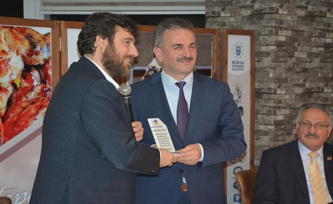 Atatepe Sosyal Tesisleri'nde Başkan Yılmaz makine mühendislerini ağırladı