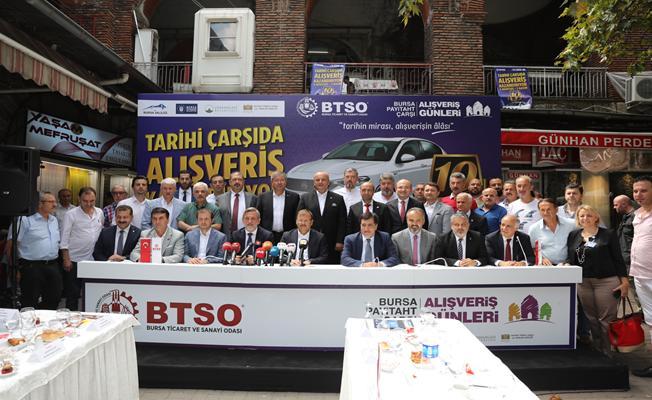 Büyükşehir Belediyesi Çarşı İçin Harekete Geçti