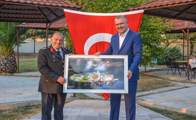 Bursa İl Jandarma Komutanı Hacıoğlu'ndan Karacabey'e övgü