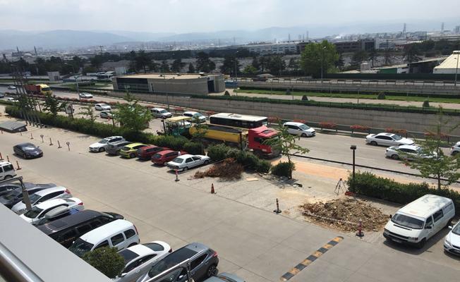 Bursa'da Asfaltlamalar Hız Kesmeden Sürüyor