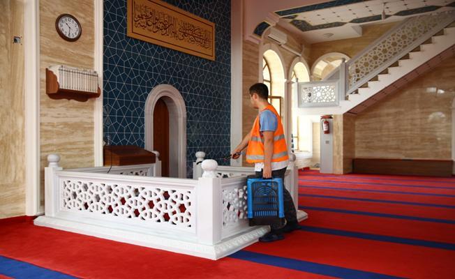 Nilüfer'de Camiler Temizleniyor