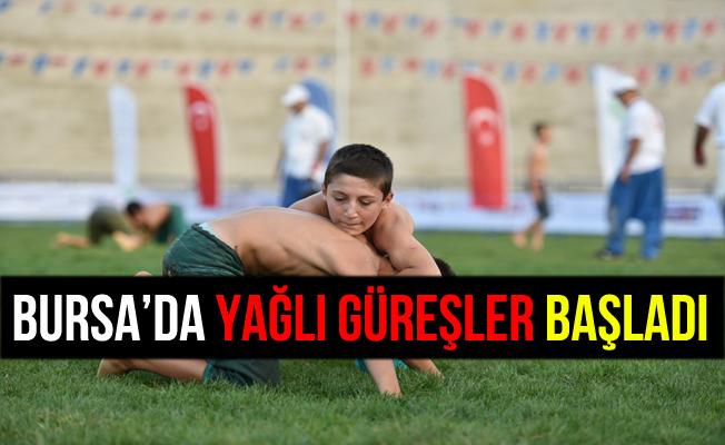 Ata Sporumuz Olan Yağlı Güreş Bursa'da Yaşatılıyor