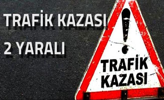 Bursa'da kontrolden çıkan otomobil ormanlık alana uçtu