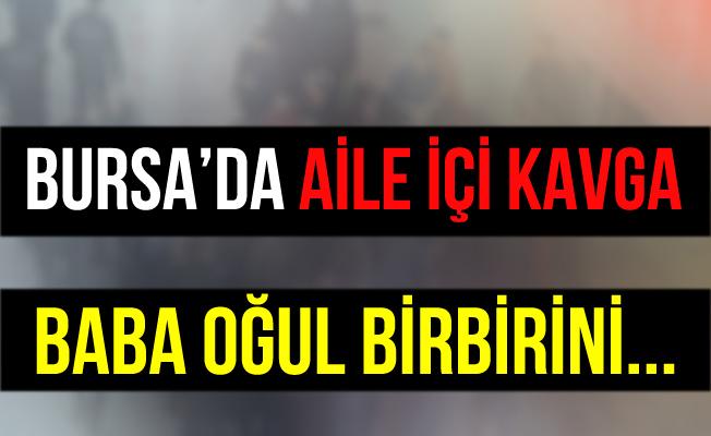 Bursa İnegöl'deki Baba Oğul Kavgasında 3 Kişi Yaralandı