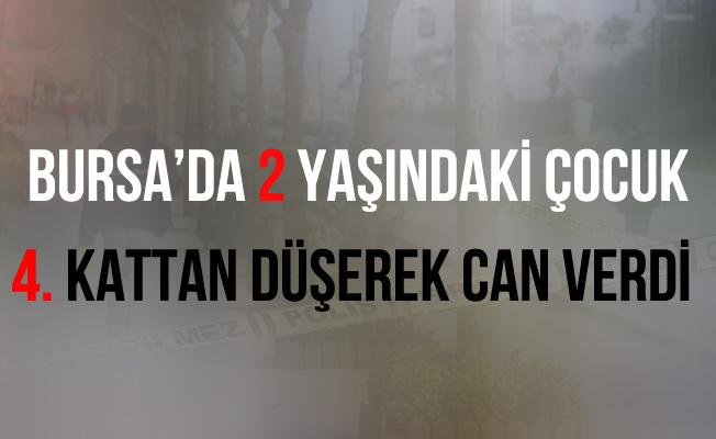 Bursa Osmangazi'de Pencereden Düşen Çocuk Hayatını Kaybetti