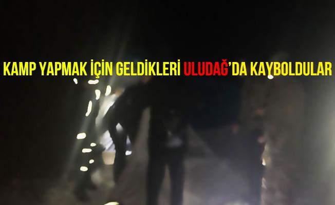 Bursa Uludağ'da Kaybolan 4 Öğrenci Jandarma Tarafından Kurtarıldı