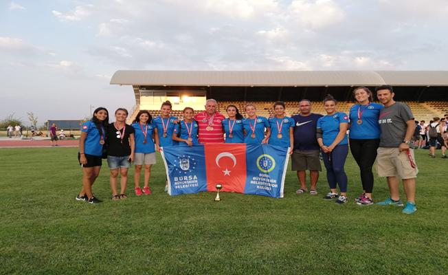 Büyükşehir Belediyespor Atletizmde 'üçüncülük' başarısı kazandı
