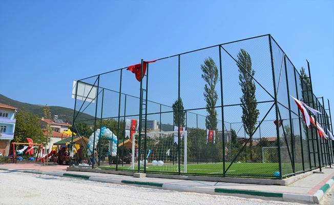 Eren Bülbül Halı Saha ve Çocuk Parkı Açıldı