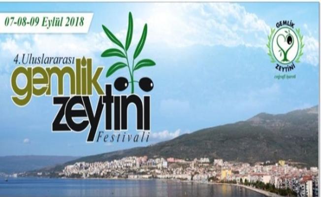 Gemlik Zeytin Festivali'ne Görkemli Açılış