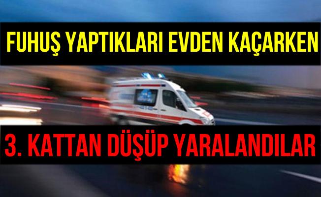 İstanbul Fatih'teki Fuhuş Operasyonunda Kaçmaya Çalışan Kadınlar 3. Kattan Düştü