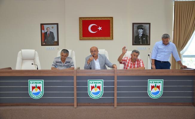 İznik Belediyesi'nde Eylül 2018 Meclisi Gerçekleşti