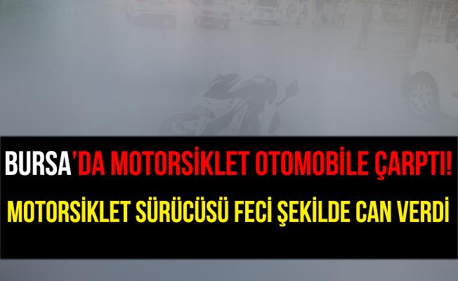Bursa Çevreyolu'ndaki Kazada Motosiklet Sürücüsü Öldü