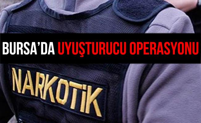 Bursa'daki Uyuşturucu Operasyonu'nda 1 Kişi Yakalandı